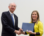 Teaching/Primary Duties Achievement & Contribution: Katherine Shaw by Eastern Illinois University