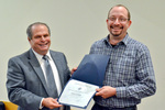Dr. Glassman with Dr. William Lovekamp