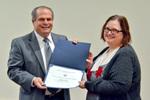 Dr. Glassman with Dr. Angela Vietto