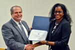 Dr. Glassman with Dr. Kesha Coker