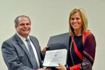 Dr. Glassman with Dr. Heidi Larson