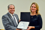 Dr. Glassman with Dr. Stacey Ruholl