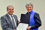 Dr. Glassman with Dr. Sheila Simons