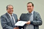 Dr. Glassman with Dr. Radu Semeniuc