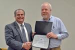 Dr. Glassman with Dr. Gordon Tucker