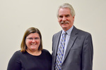 Dr. Amy Rosenstein with Provost Blair Lord