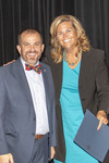 Provost Gatrell with Dr. Heidi Larson, ACA winner for Teaching by Beverly Cruse