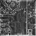 Charleston, IL 1968 Aerial Photo 500-218