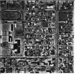 Charleston, IL 1968 Aerial Photo 500-222