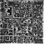 Charleston, IL 1968 Aerial Photo 500-223