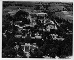 Aerial View, Campus, 1950s by University Archives
