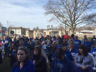 Surround the Castle: Rally at Old Main