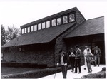 Burl Ives Art Studio Hall, Dedication Day, with Burl Ives by University Archives
