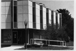 Clinical Services Building After Installation of Handicapped Ramp by University Archives