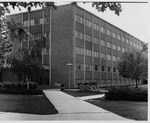 Taylor Hall Dormitory Entrance by University Archives