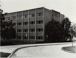 Thomas Hall Dormitory, from the Southeast by University Archives