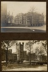 Early (191? -- 192?) pictures of both Old Main and Pemberton Hall