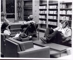 Booth Library'S Original Study Lounge
