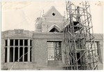 Booth Library Under Construction by University Archives