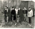 Booth Library Groundbreaking - 1948