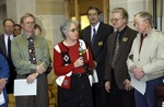 Booth Library Re-Dedication, 2002 by University Archives
