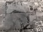 Aerial View, Athletic Field/Student Housing by University Archives