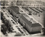 Aerial View, Lincoln and Douglas Halls by University Archives
