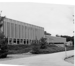 University Union, East Side with Second Phase Added by University Archives