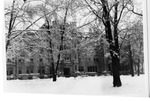 Pemberton Hall in Winter by University Archives