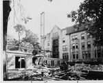 Pemberton Hall Addition Under Construction by University Archives