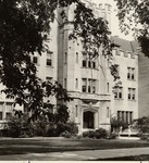 Pemberton Hall Entrance by University Archives