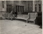 Pemberton Hall Bench (Class of 1921 Gift) by University Archives