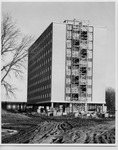 Dormitory Under Construction by University Archives