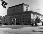 Douglas Hall and Stevenson Tower by University Archives