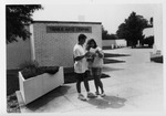 Tarble Arts Center Sculpture Court by University Archives
