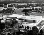 Lantz Arena, Aerial View by University Archives