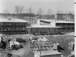 Construction of Ford, McKinney, and Weller Halls