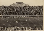 O'Brien Field During Football Game by University Archives