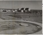 Aerial View, Soccer Field, Southeast of Football Stadium by University Archives
