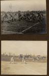 Early Baseball and Football Players