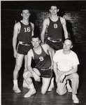 Basketball Players, 1950s by University Archives