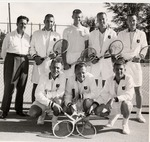 Tennis Team, 1957 by University Archives
