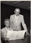 Marge Hutton and Cecil Swedell by University Archives