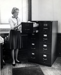Norma Sprague Practicing Secretarial Studies Skills by University Archives