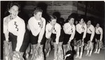 Sigma Sigma Sigma Cheerleaders by University Archives