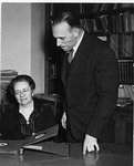 Ruth Carman and Kevin J. Guinagh by University Archives