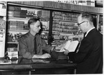 Charles H. Coleman Presents His Lincoln Book To Kings Book Store