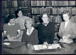 Mary J. Booth and Library Faculty, 1941-42 by University Archives