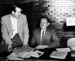 Leonard Durham and Harry E. Peterka by University Archives