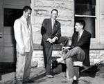 William B. Barrett, Richard W. Cambridge, and Author E. Hughes, Jr. by University Archives